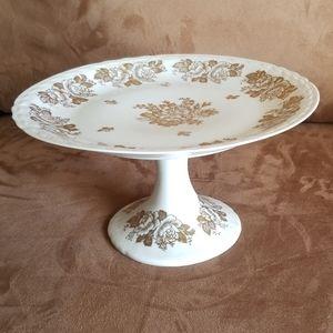 Porcelaine de France Porcelain Cake Stand